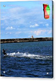 Beautiful Day Acrylic Print by Celestial  Blue