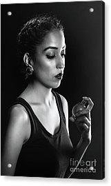 Beauty Portrait Acrylic Print