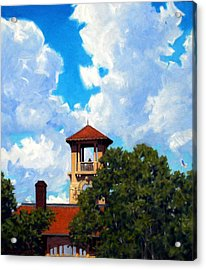 Bell Tower Acrylic Print by Kevin Lawrence Leveque