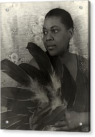 Bessie Smith, American Blues Singer Acrylic Print by Everett