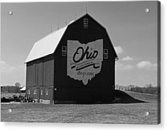 Bicentennial Barn Acrylic Print by Michiale Schneider