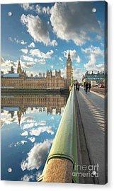 Big Ben London Acrylic Print by Adrian Evans