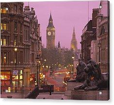 Big Ben London England Acrylic Print by Panoramic Images