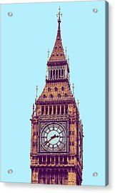 Big Ben Tower, London  Acrylic Print by Asar Studios