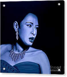 Billie Holiday Acrylic Print
