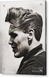 Billy Fury, Singer Acrylic Print