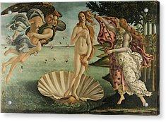 The Birth Of Venus, Detail Acrylic Print