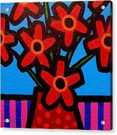 Black Eyed Flowers Acrylic Print by John  Nolan
