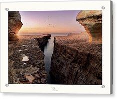 Blata Tal-melh - Salt Rock Acrylic Print