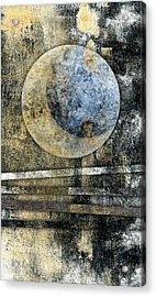 Blue Moon Acrylic Print by Carol Leigh