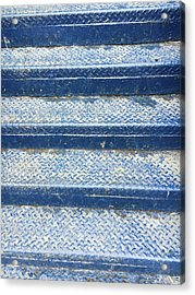 Blue Steps Acrylic Print