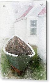Boat On Monhegan Island Acrylic Print