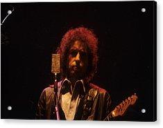 Bob Dylan Acrylic Print by David Bishop