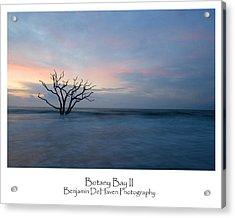 Botany Bay II Acrylic Print by Benjamin DeHaven