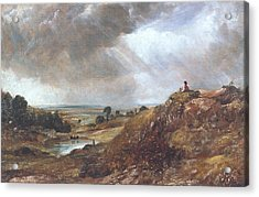 Branch Hill Pond Acrylic Print by John Constable