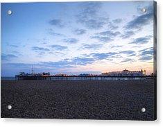 Brighton At Night Acrylic Print
