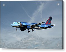 Brussels Airlines Airbus A320-214 Acrylic Print