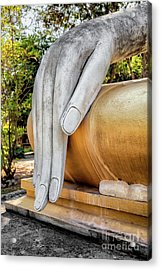 Acrylic Print featuring the photograph Buddha Hand by Adrian Evans