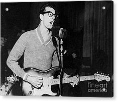 Buddy Holly Promotional Photo Acrylic Print