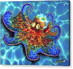 Caribbean Octopus Acrylic Print