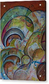 Cast Off Consciousness Series Acrylic Print by Joey Dott
