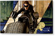 Catwoman Collection Acrylic Print
