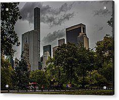 Central Park Acrylic Print by Martin Newman