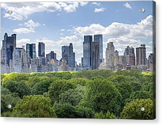 Central Park South Acrylic Print by Ariane Moshayedi