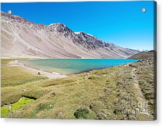 Acrylic Print featuring the photograph Chandratal Lake by Yew Kwang