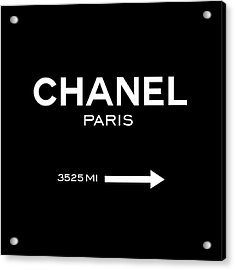 Chanel Paris Acrylic Print