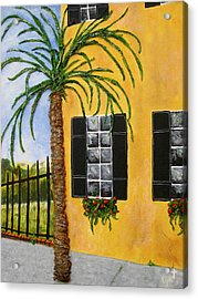 Acrylic Print featuring the painting Charleston 3d by Lyn Calahorrano