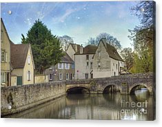 Chartres France Acrylic Print by Juli Scalzi