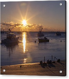 Chatham Sunrise Acrylic Print by Charles Harden