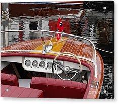 C C Continental Acrylic Print
