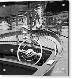 1950's Sportsman Acrylic Print