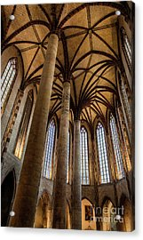 Acrylic Print featuring the photograph Church Of The Jacobins Interior by Elena Elisseeva
