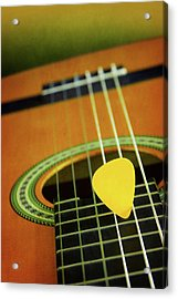 Acrylic Print featuring the photograph Classic Guitar  by Carlos Caetano
