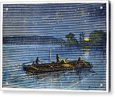 Clemens: Tom Sawyer Acrylic Print by Granger