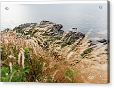 Cliffs At Kullaberg Acrylic Print