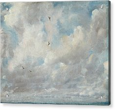 Cloud Study Acrylic Print by John Constable