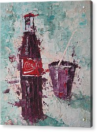 Coca Cola Bottle Acrylic Print