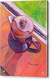 #2 Coffee Pot Acrylic Print by Chana Helen Rosenberg