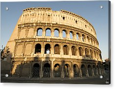 Coliseum. Rome Acrylic Print by Bernard Jaubert