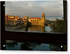 Collioure Sunset Acrylic Print by K C Lynch