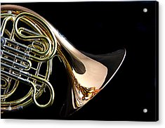 Color French Horn Acrylic Print