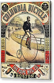 Columbia Bicycles Poster Acrylic Print by Granger