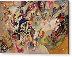Composition Vii Acrylic Print by Wassily Kandinsky
