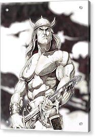 Conan The Barbarian Acrylic Print