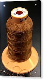 Cottons Threads Acrylic Print by Adam Sworszt