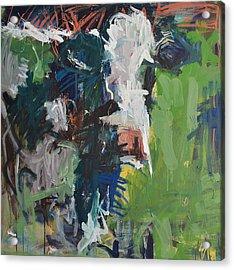 Cow Painting Acrylic Print